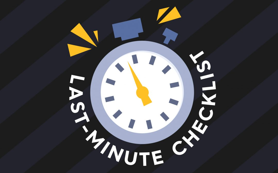 BFCM 2020: YOUR Last Minute eCommerce Checklist