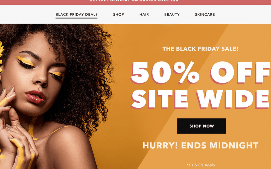 Is Your Homepage Black Friday Ready?